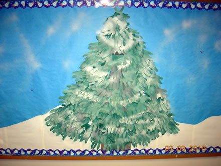 SMART Kidd Zone - Winter Pine Tree